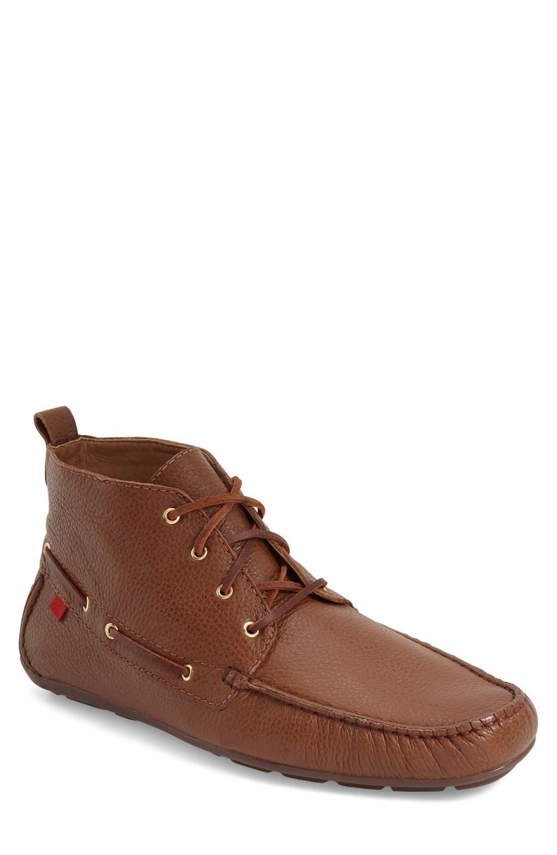 'Soho' Boot,                             Main thumbnail 1, color,                             Cognac Leather