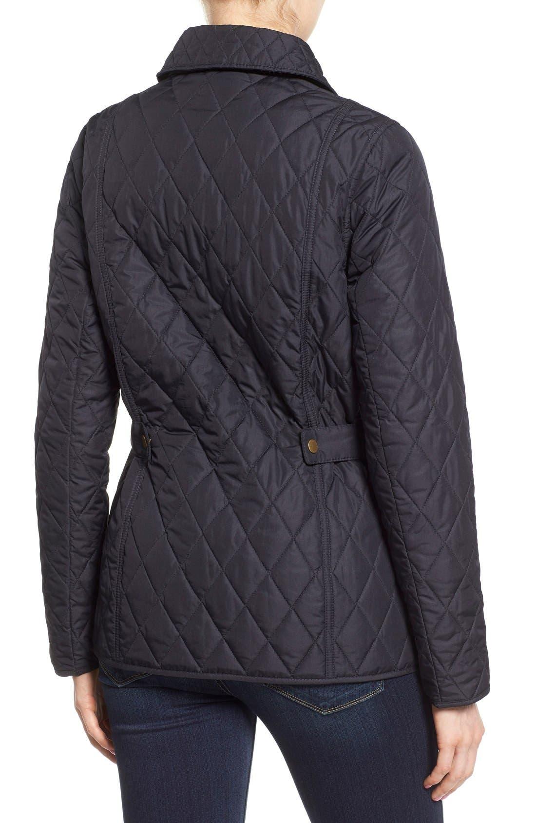 Alternate Image 2  - Barbour 'Herterton' Lightweight Diamond Quilt Jacket