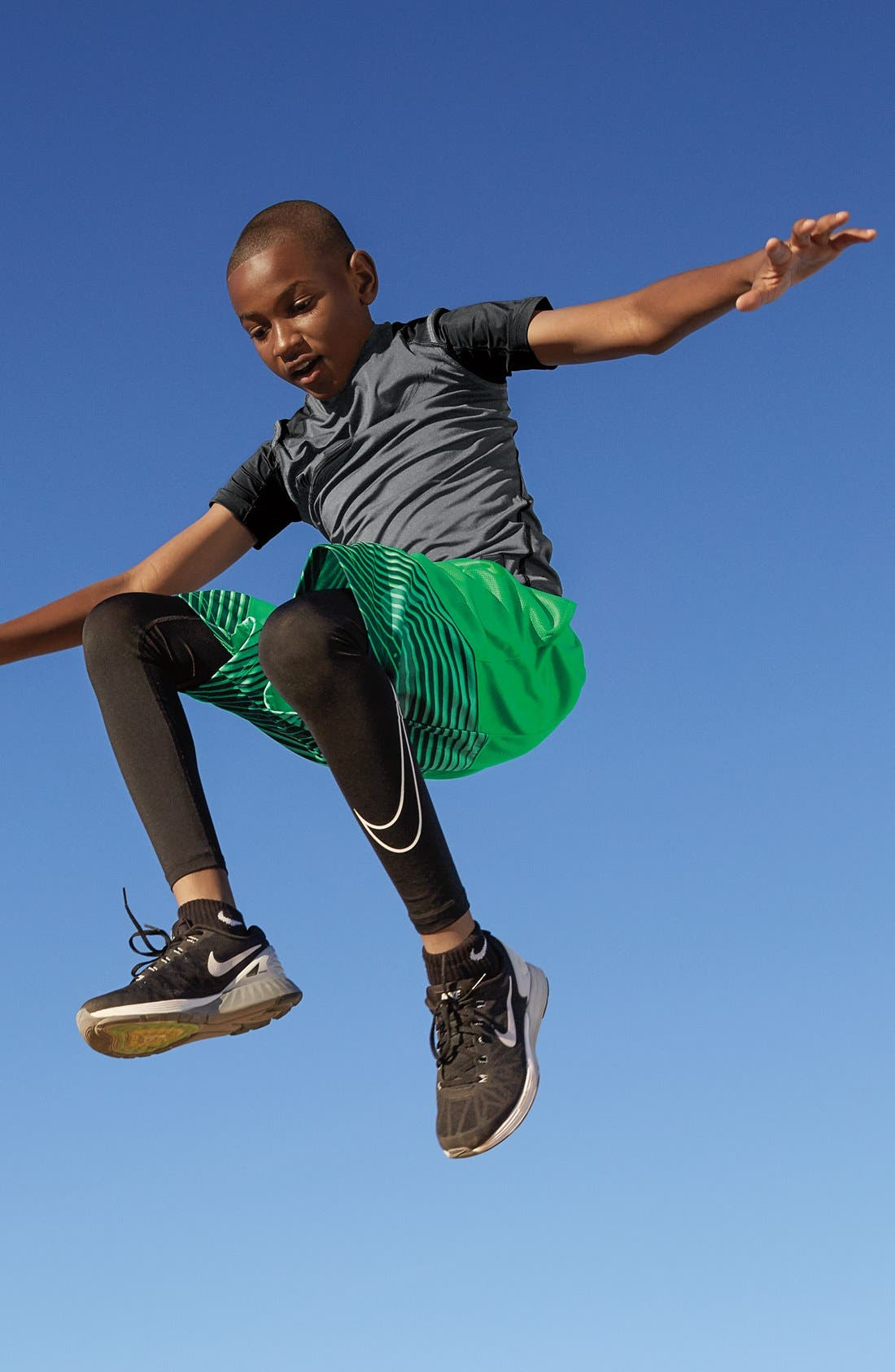 Alternate Image 3  - Nike Dri-FIT Compression Tights (Little Boys & Big Boys)