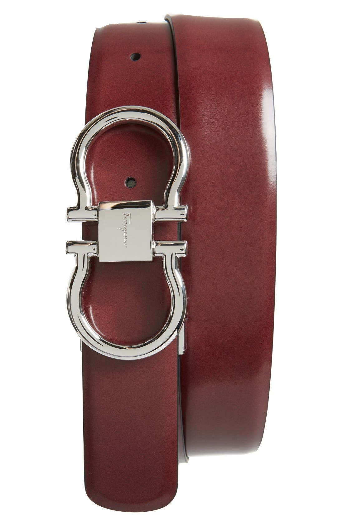 Main Image - Salvatore Ferragamo Reversible Belt