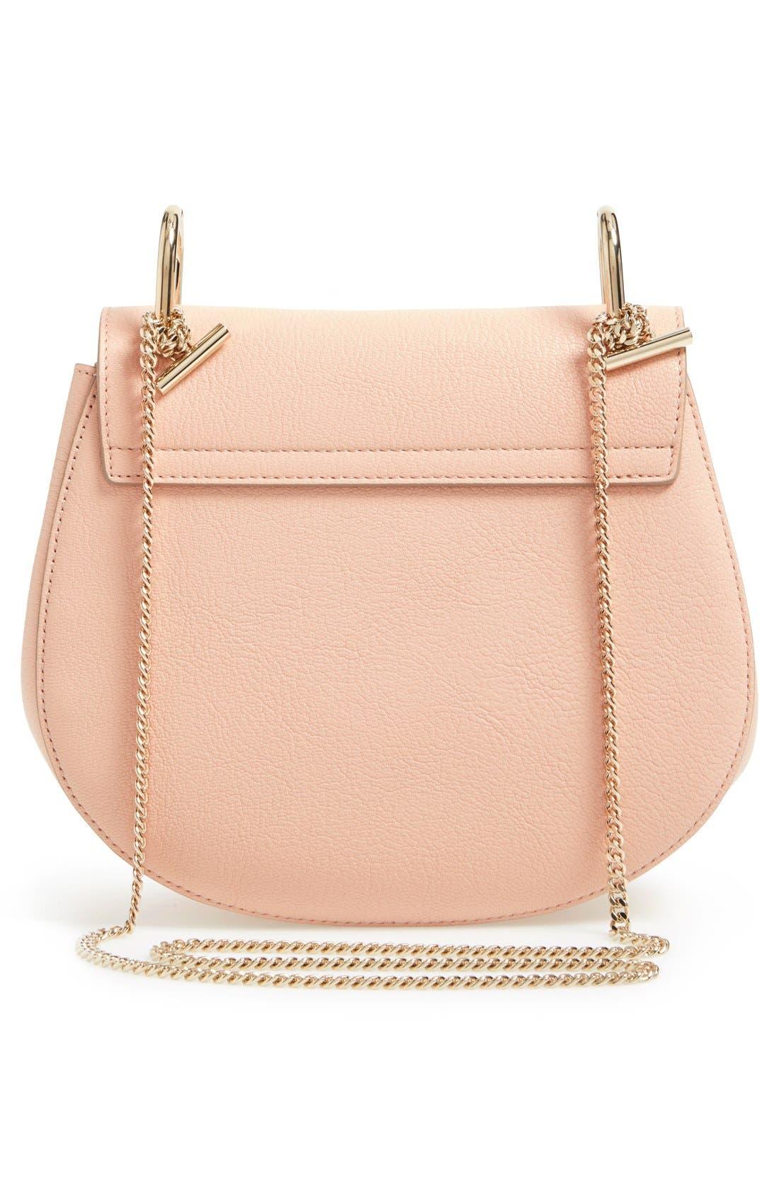 Alternate Image 3  - Chloé 'Small Drew' Goatskin Leather Shoulder Bag