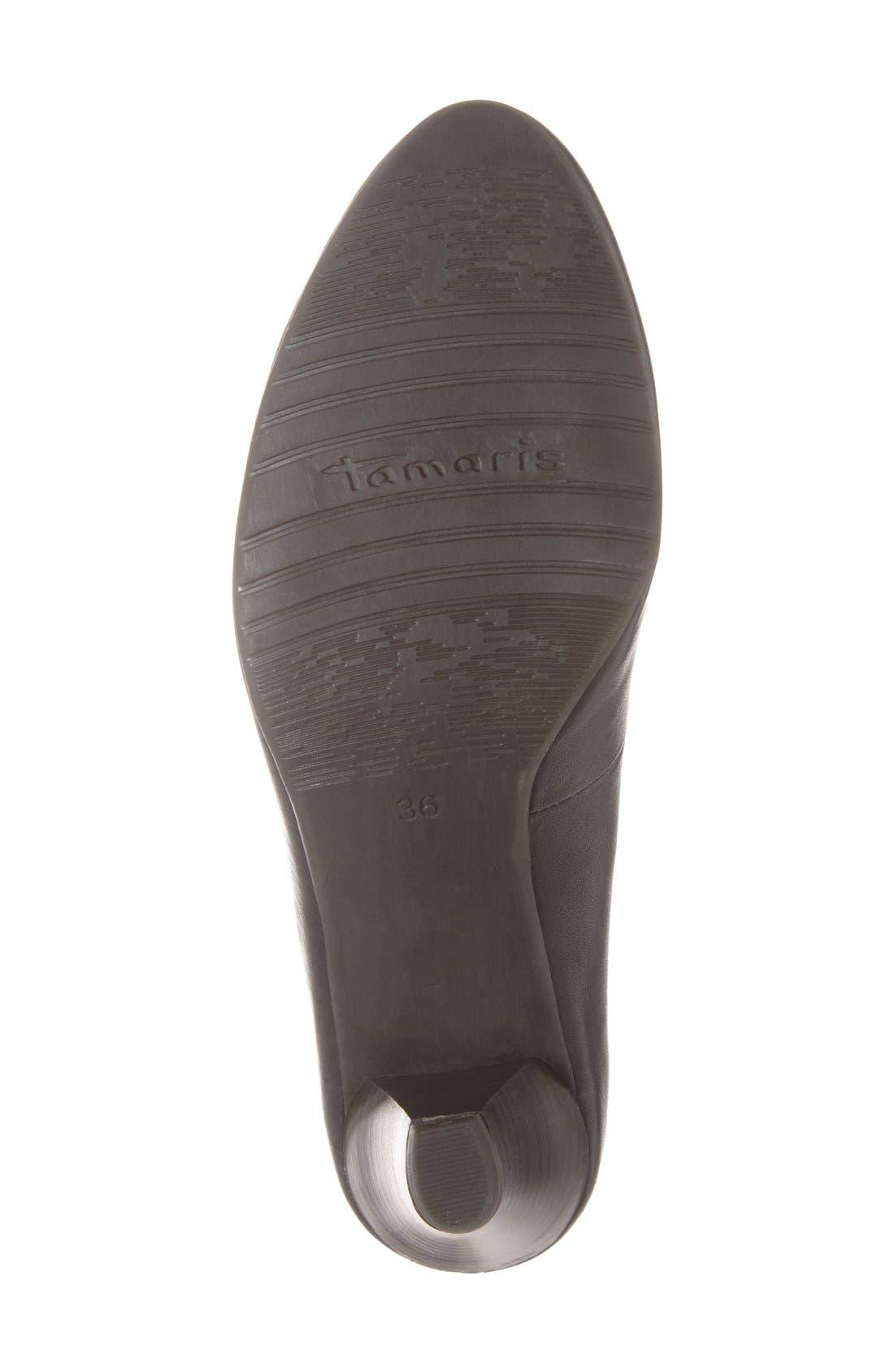 Alternate Image 4  - Tamaris 'Pimela' Almond Toe Pump (Women)