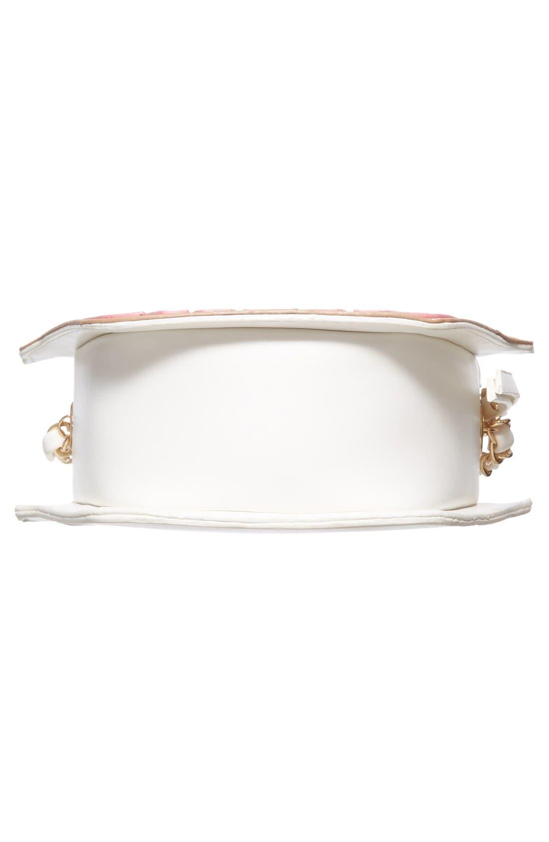 Alternate Image 6  - Nila Anthony 'Cupcake' Faux Leather Crossbody Bag