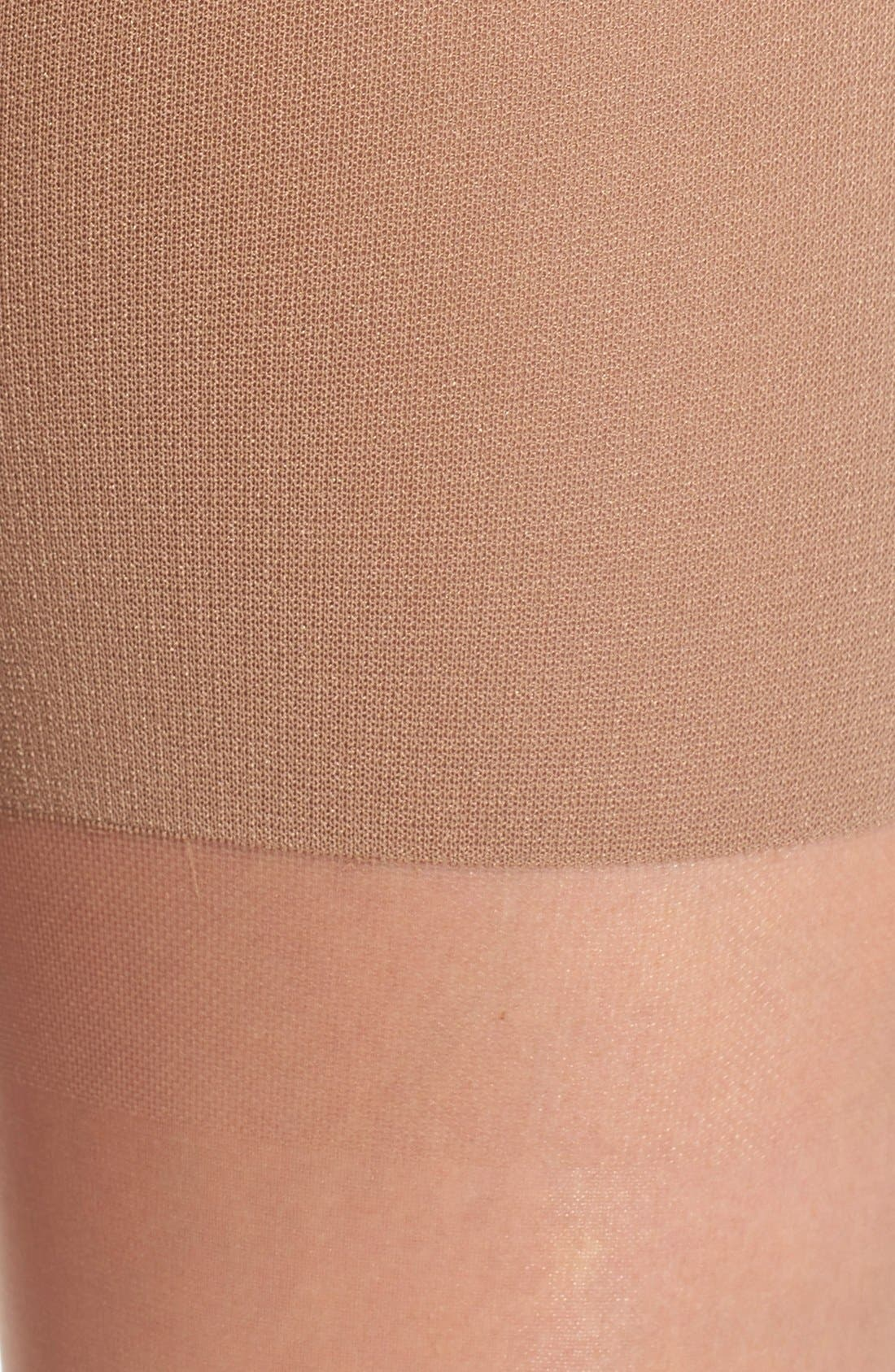 Alternate Image 2  - SPANX® Luxe High Waist Shaping Pantyhose