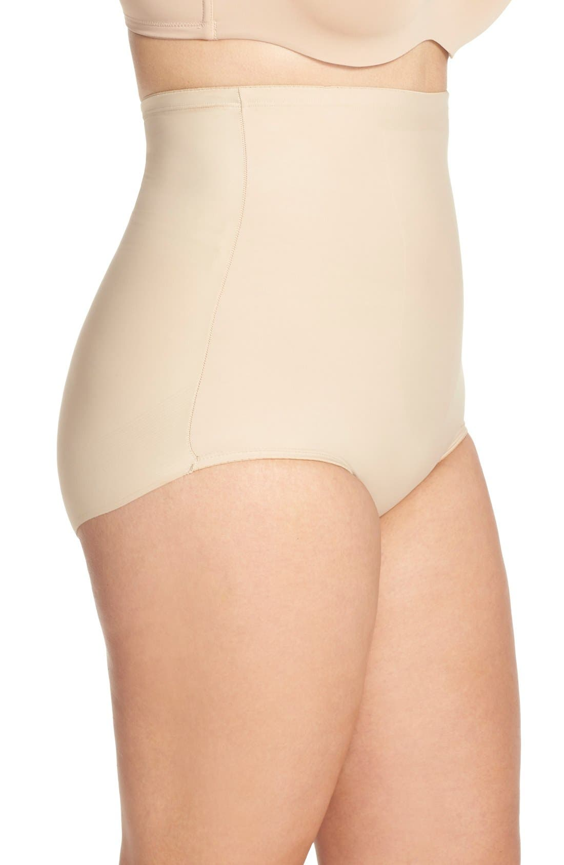 Alternate Image 3  - TC High Waist Shaping Briefs (Plus Size) (Online Only)