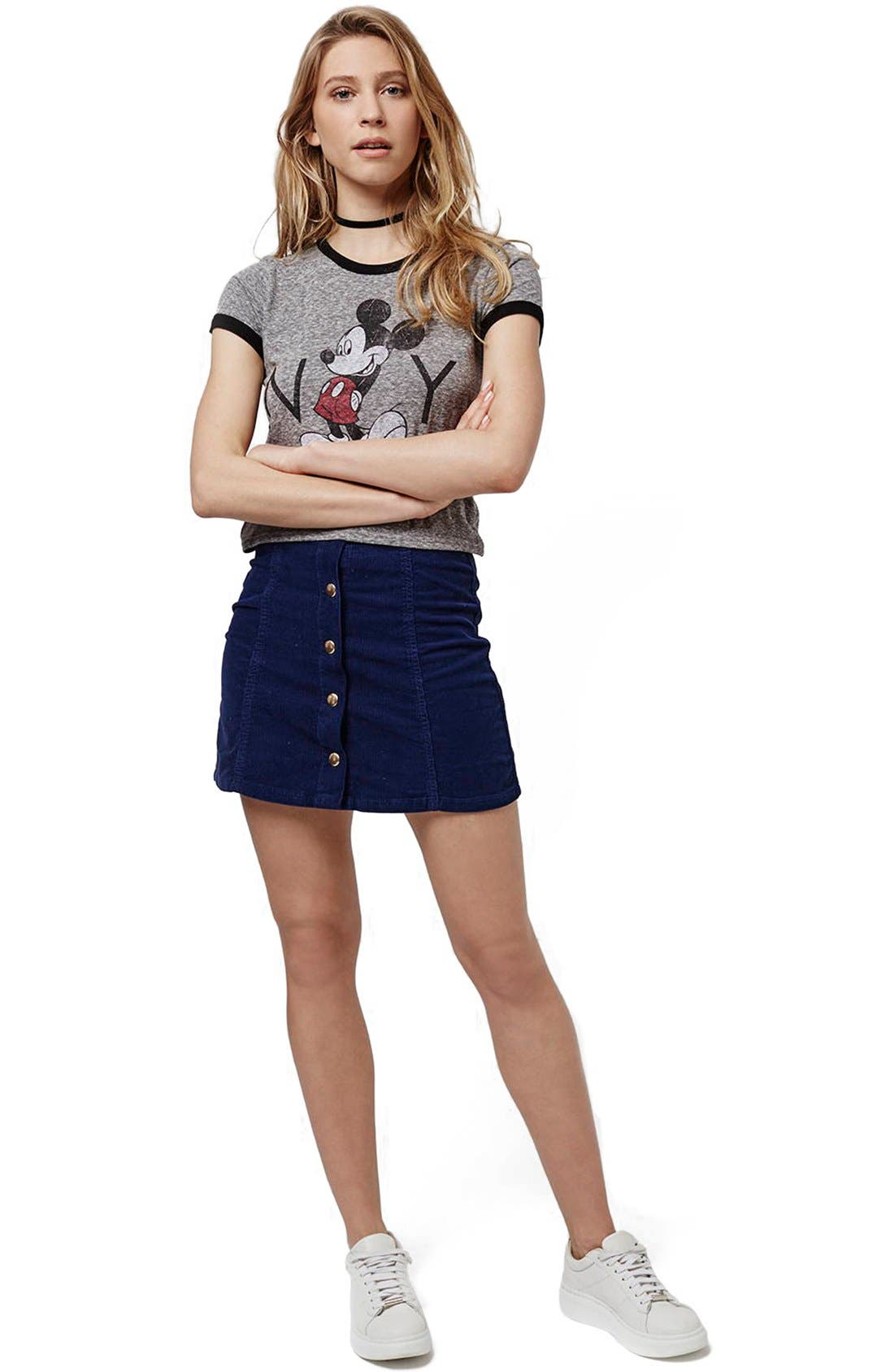 Alternate Image 2  - Topshop 'Mickey Mouse New York' Graphic Tee