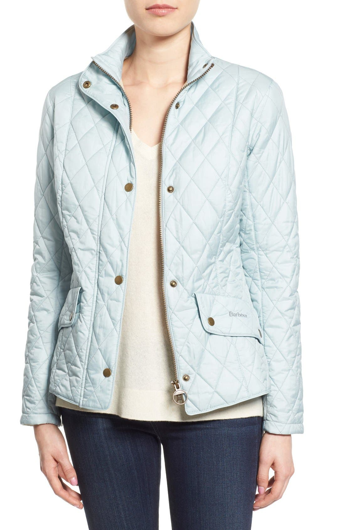 Alternate Image 1 Selected - Barbour 'Flyweight Cavalry' Quilted Jacket