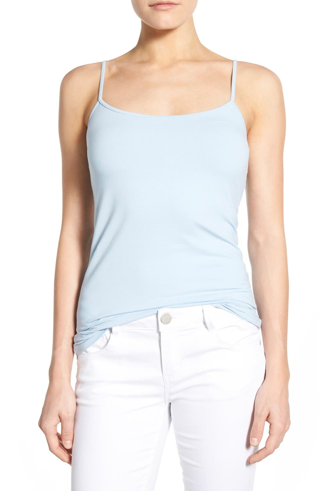 'Absolute' Camisole,                             Main thumbnail 1, color,                             Blue Cashmere