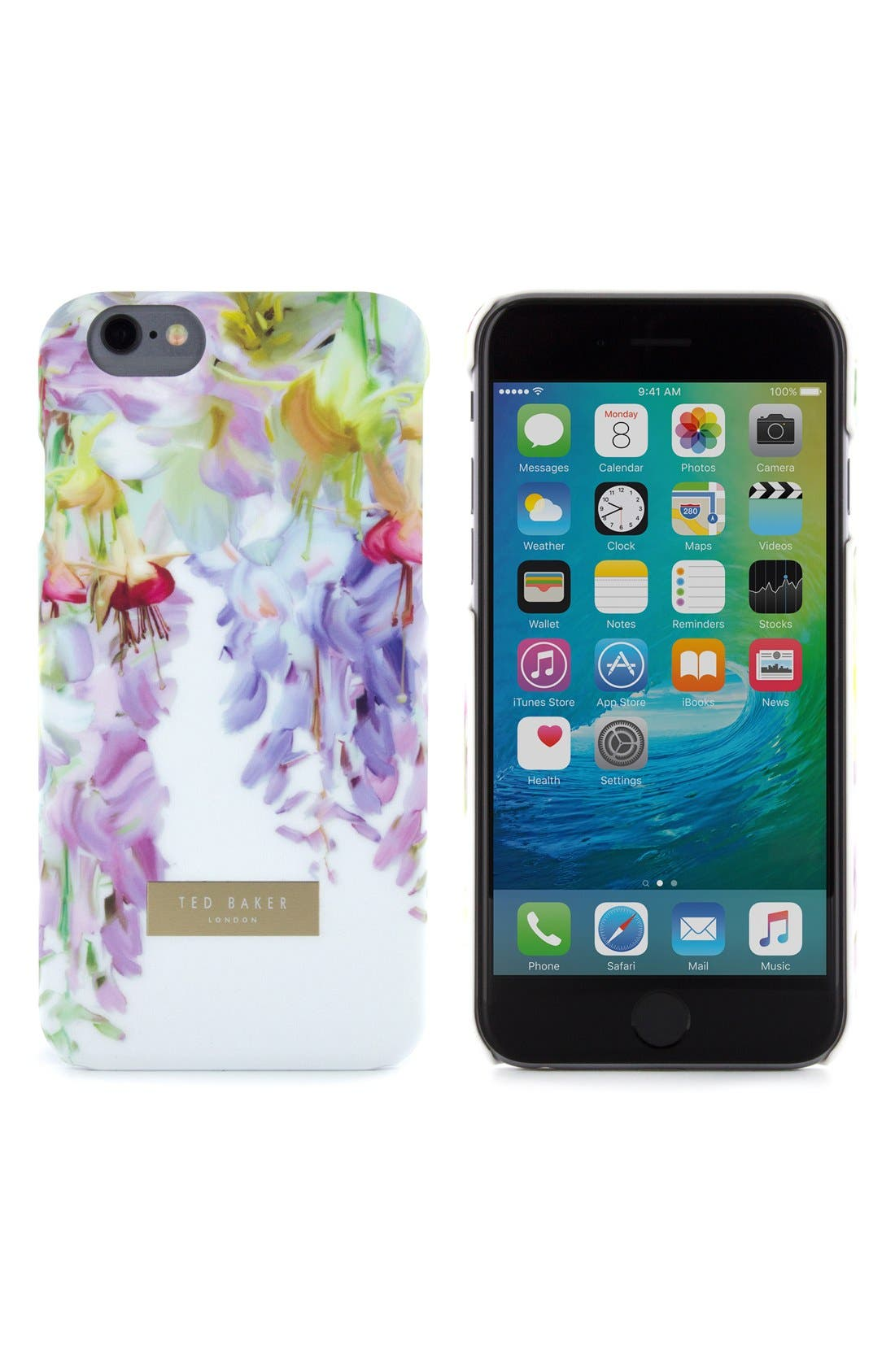 Alternate Image 1 Selected - Ted Baker London Hanging Gardens iPhone 6/6s Case