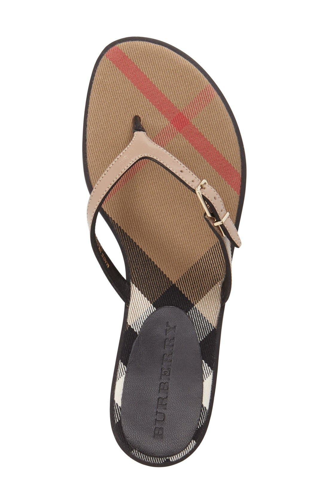 Alternate Image 3  - Burberry 'Meadow' Sandal
