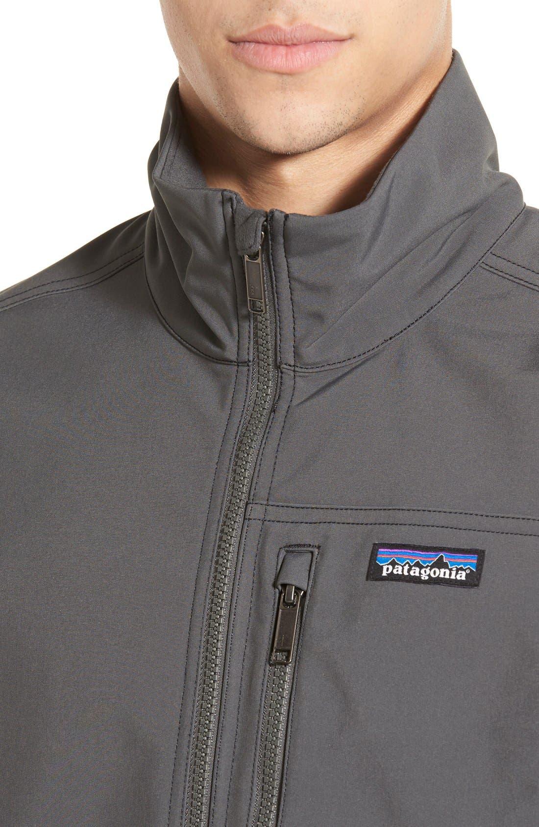 Alternate Image 4  - Patagonia 'Sidesend' Regular Fit Water Repellent Jacket
