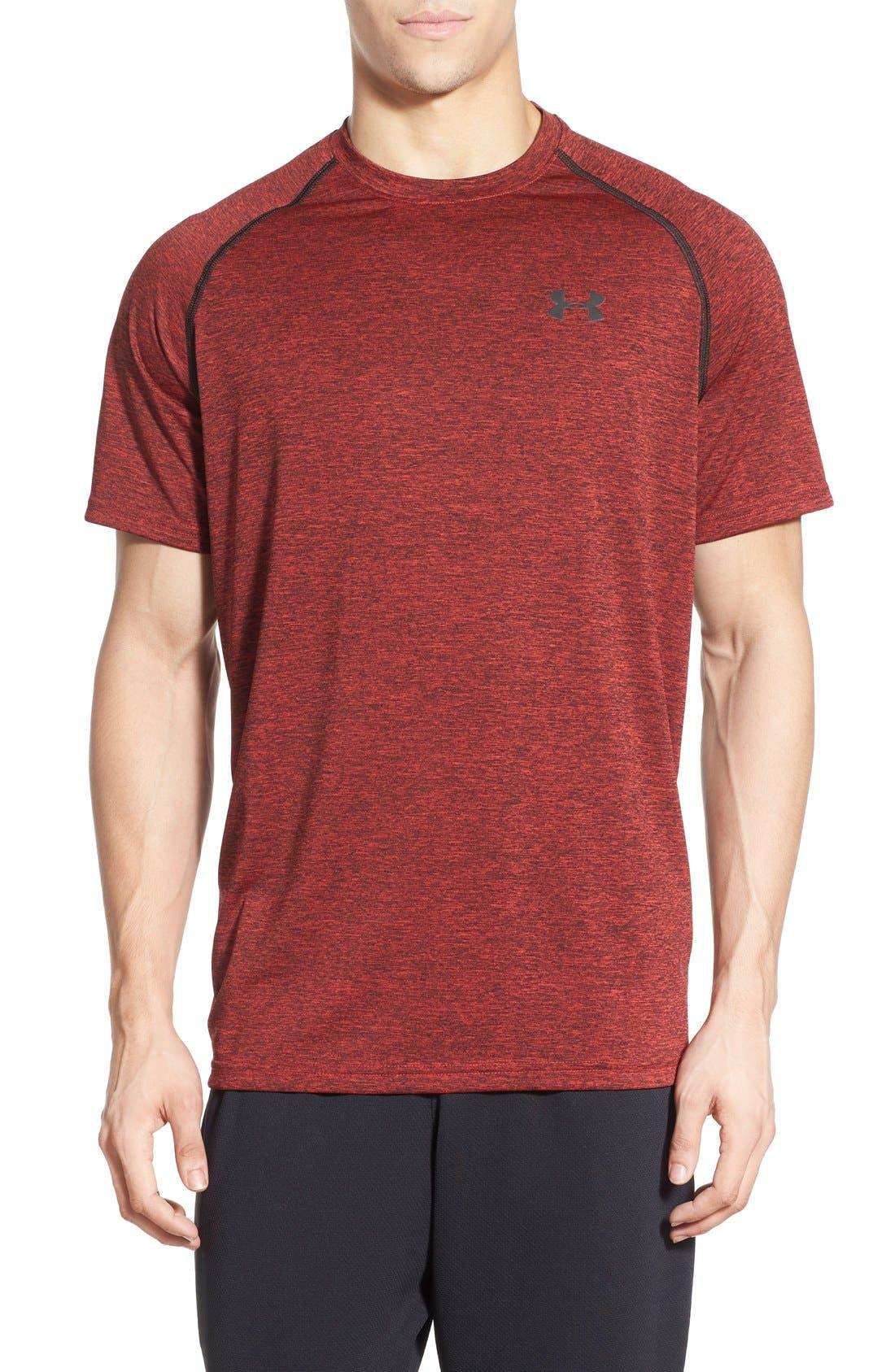Main Image - Under Armour 'UA Tech' Loose Fit Short Sleeve T-Shirt