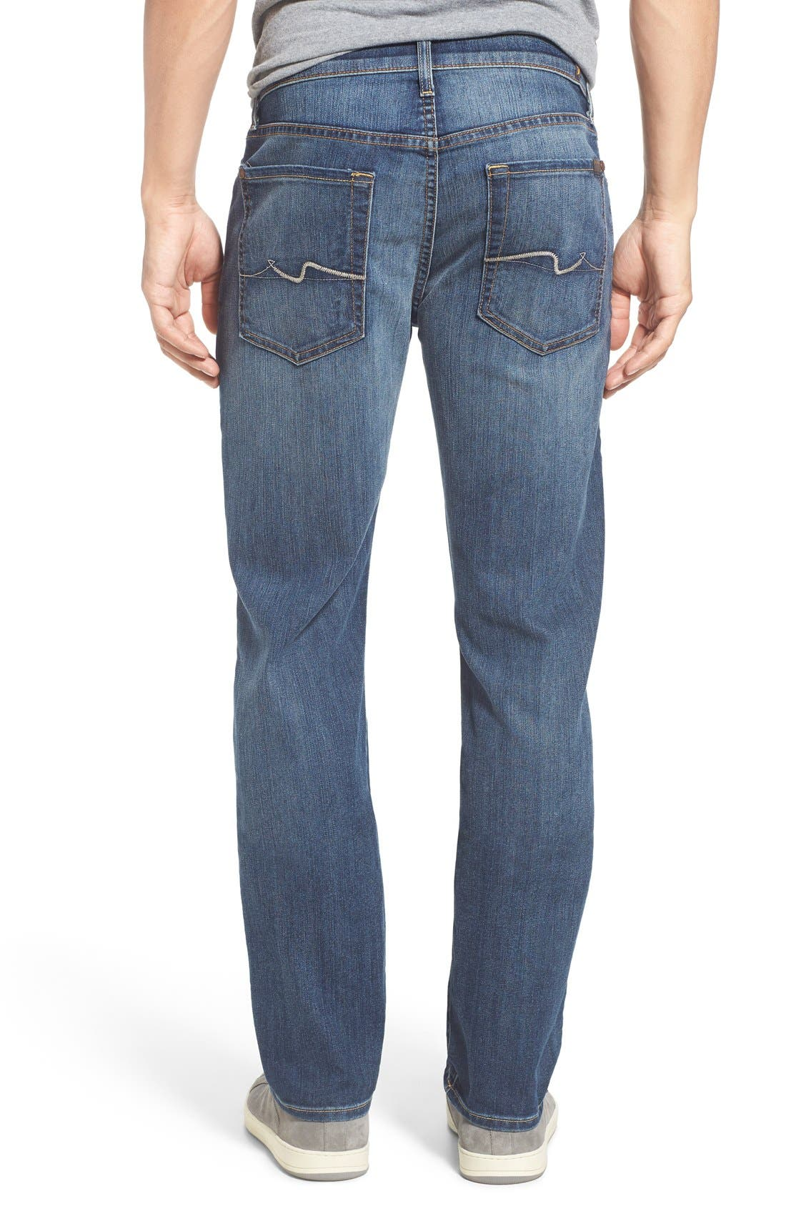 Alternate Image 2  - 7 For All Mankind® Slimmy Airweft Slim Fit Jeans (Riptide)