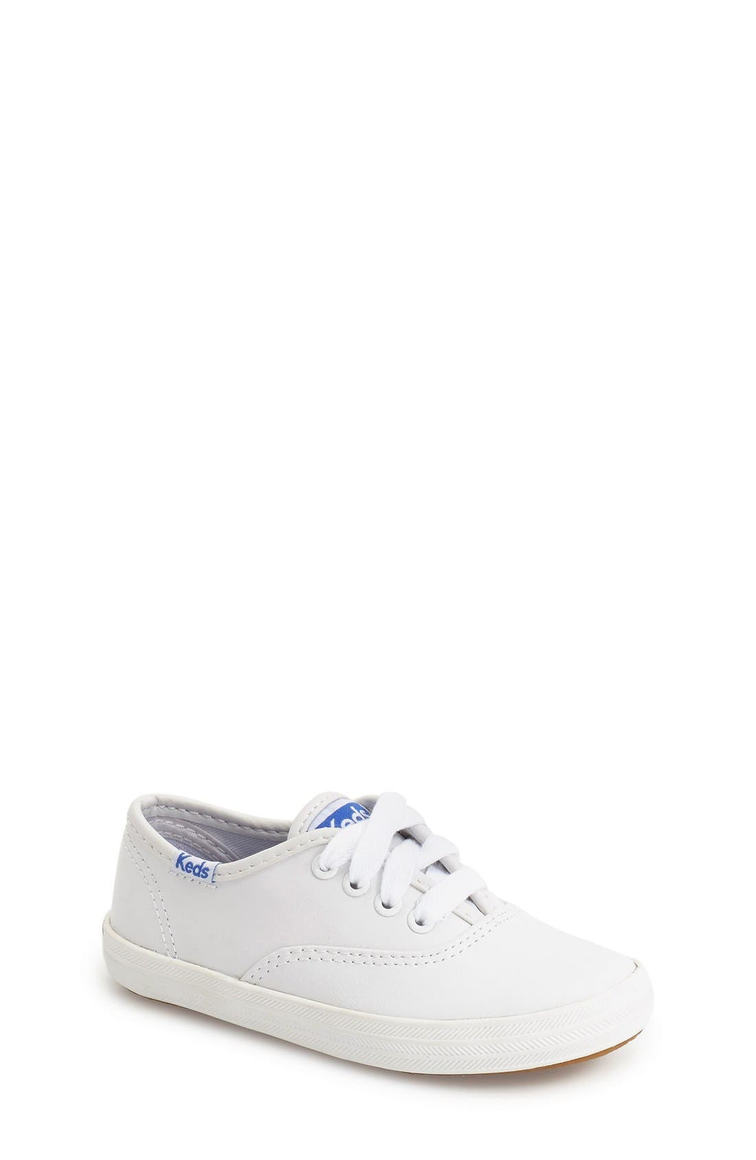'Champion - CVO' Sneaker,                             Main thumbnail 1, color,                             White Leather