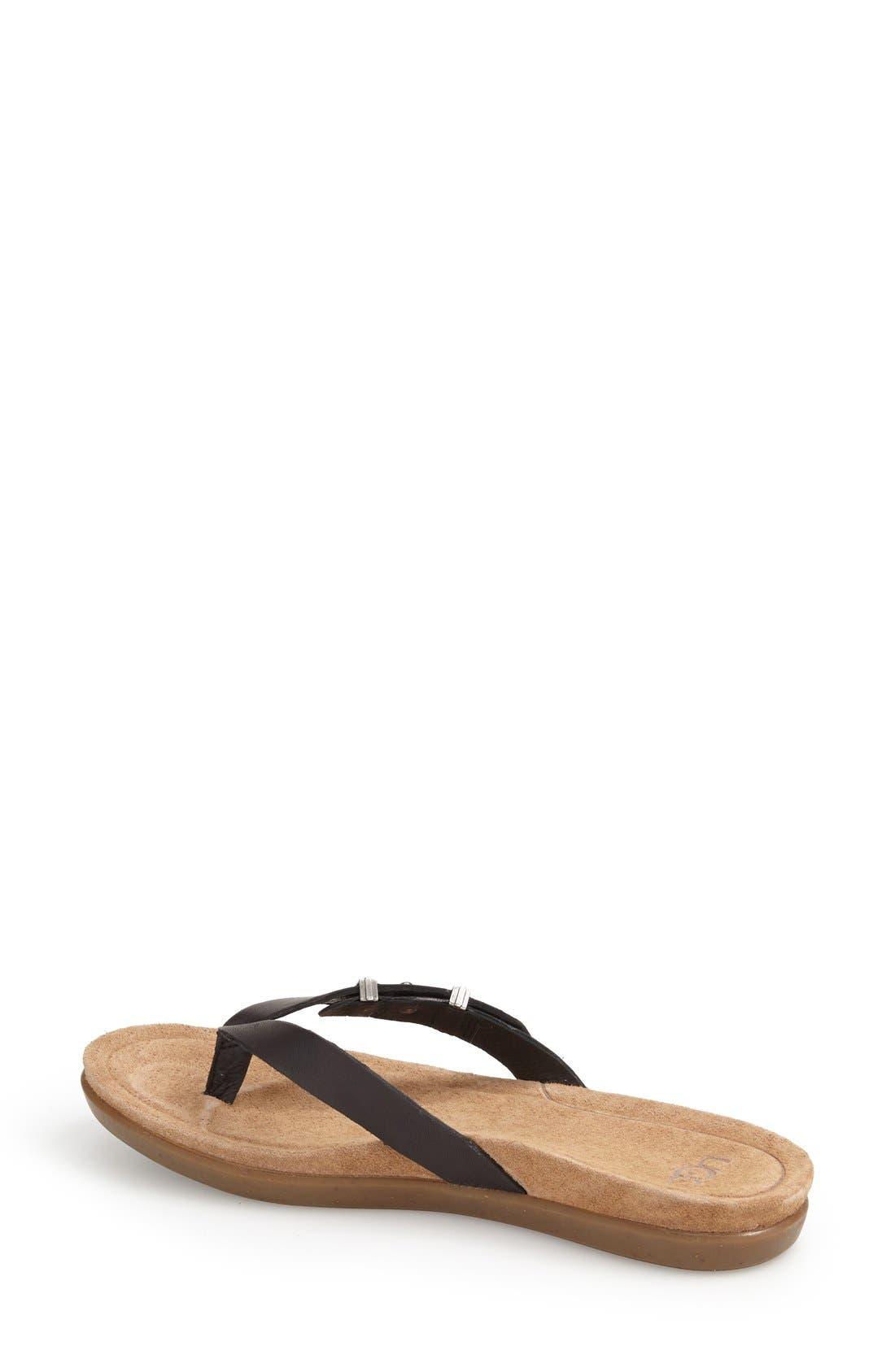 Alternate Image 2  - UGG® 'Sela' Flip Flop (Women)