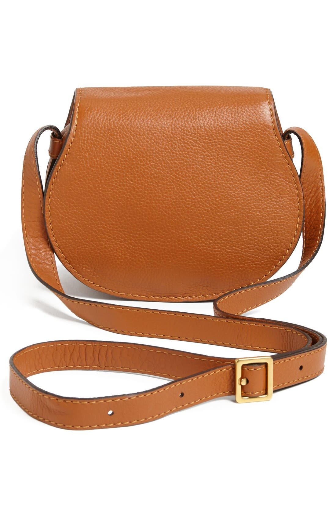 Alternate Image 3  - Chloé 'Mini Marcie' Leather Crossbody Bag