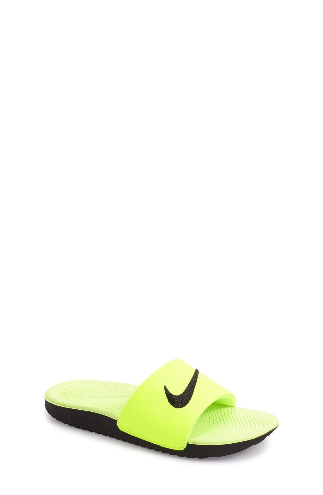 Nike 'Kawa' Slide Sandal (Toddler, Little Kid ...