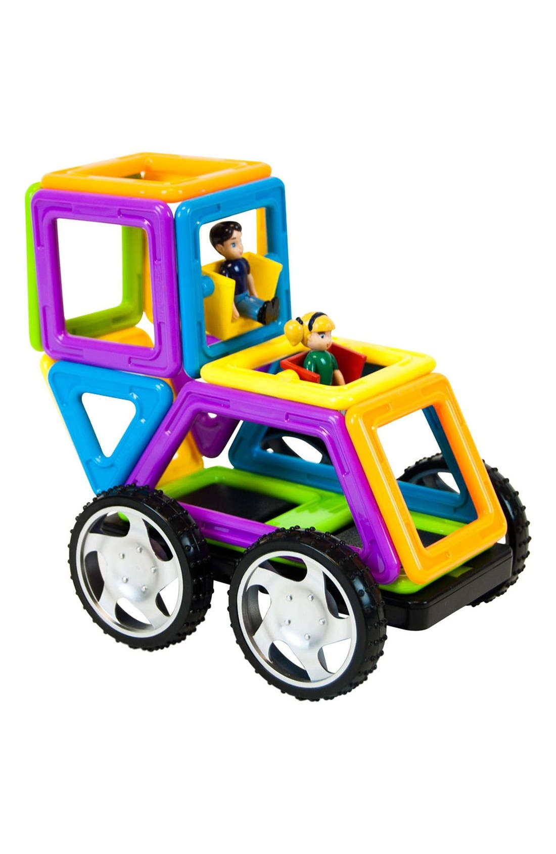 'Vehicle - WOW' Magnetic 3D Construction Set,                             Alternate thumbnail 5, color,                             Opaque Rainbow