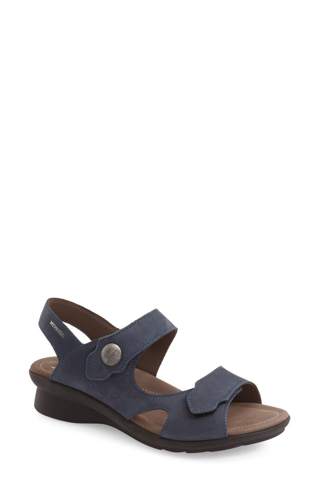 MEPHISTO Prudy Leather Sandal