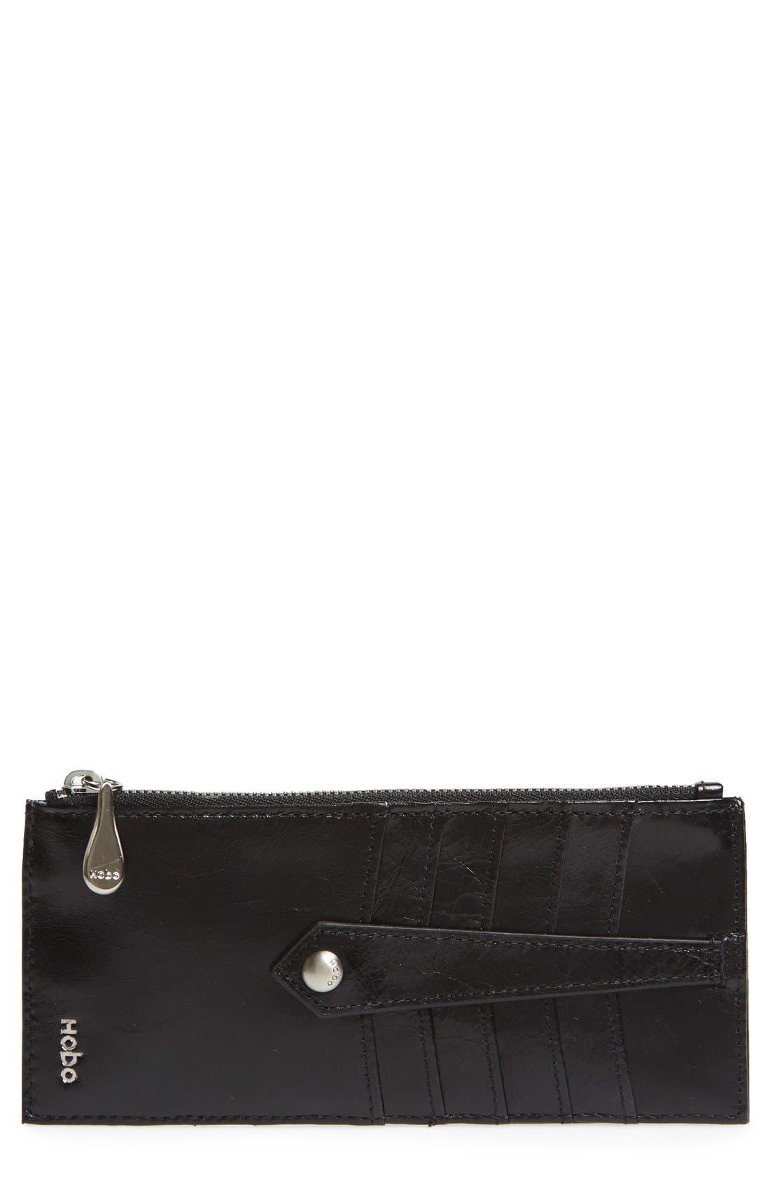 Alternate Image 1 Selected - Hobo 'Linn' Leather Card Case