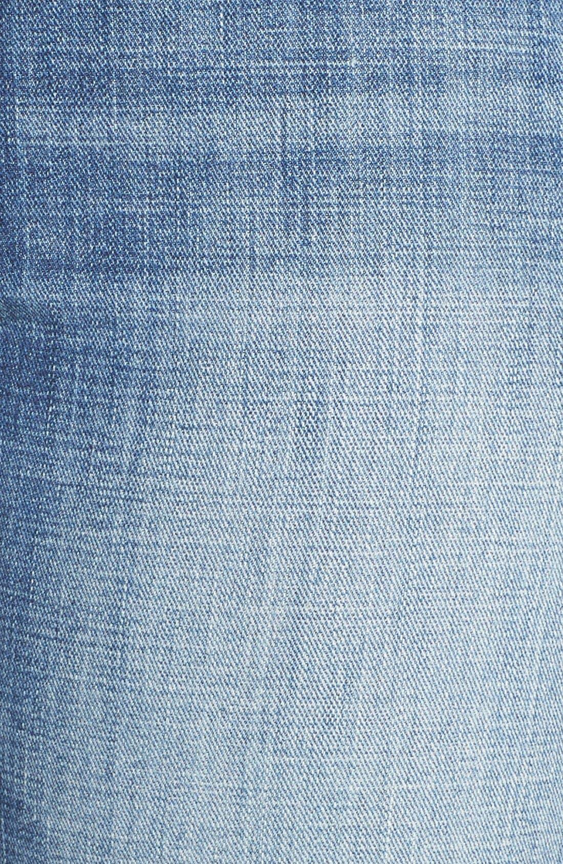 Alternate Image 6  - Lucky Brand Reese Distressed Boyfriend Jeans (Northridge Park) (Plus Size)