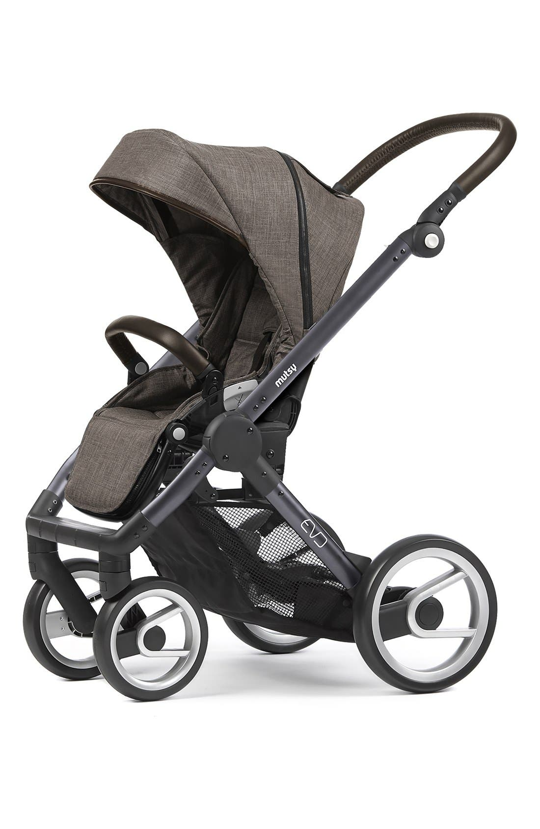 Evo - Farmer Earth Stroller,                             Alternate thumbnail 4, color,                             Brown/ Dark Grey