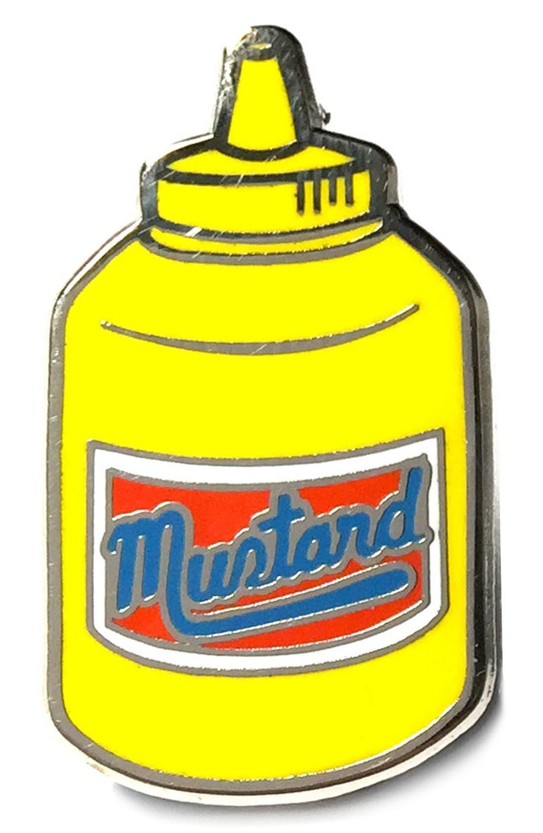 Alternate Image 1 Selected - PINTRILL 'Mustard' Fashion Accessory Pin