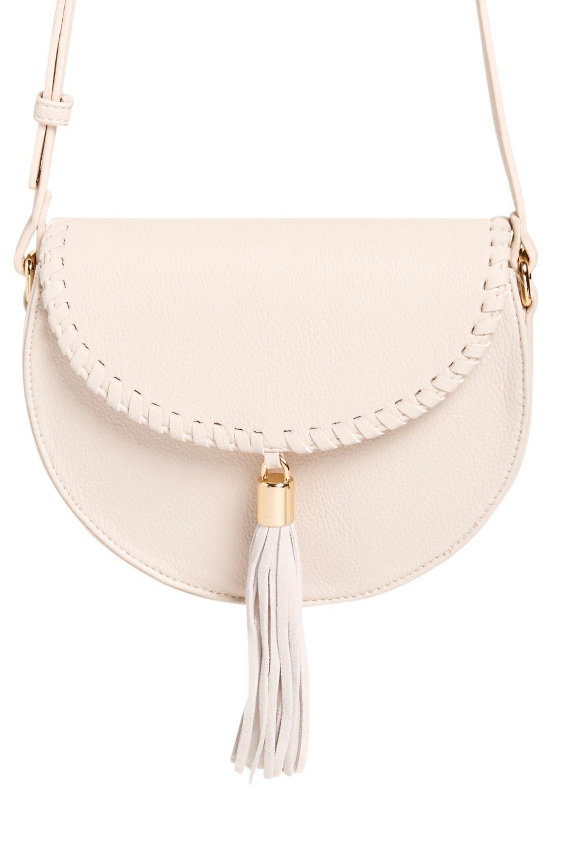 Alternate Image 3  - Street Level Tassel Flap Crossbody Bag