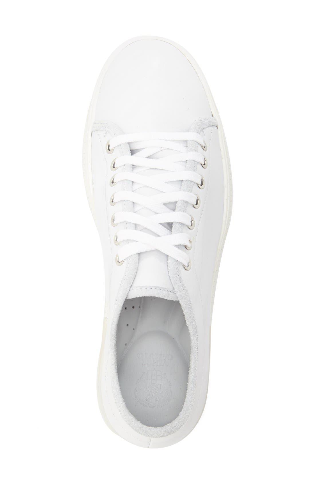 'Justen' Sneaker,                             Alternate thumbnail 3, color,                             White