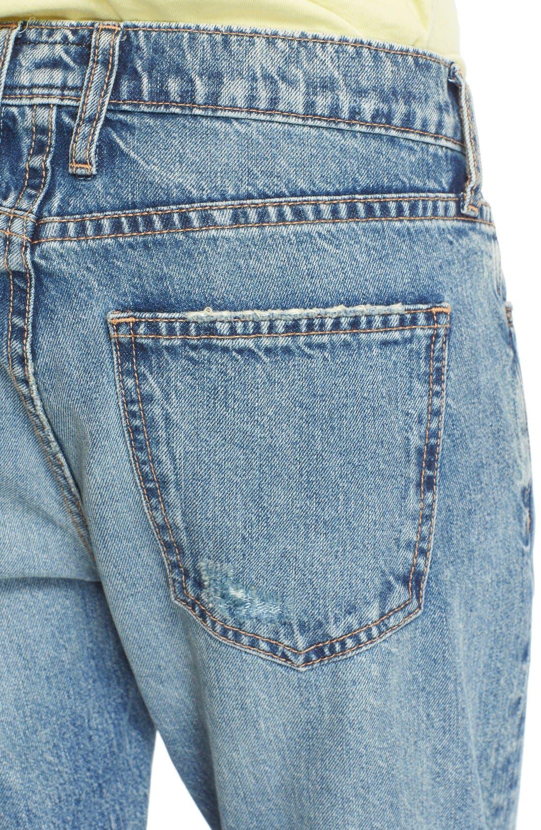 Alternate Image 4  - Current/Elliott 'The Fling' Jeans (Bedford Destroyed)