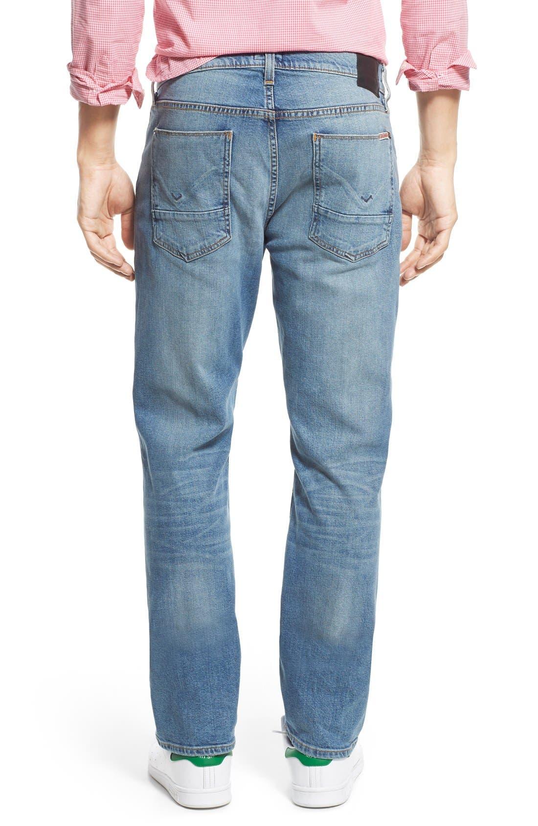 Byron Slim Straight Leg Jeans,                             Alternate thumbnail 3, color,                             Adversary