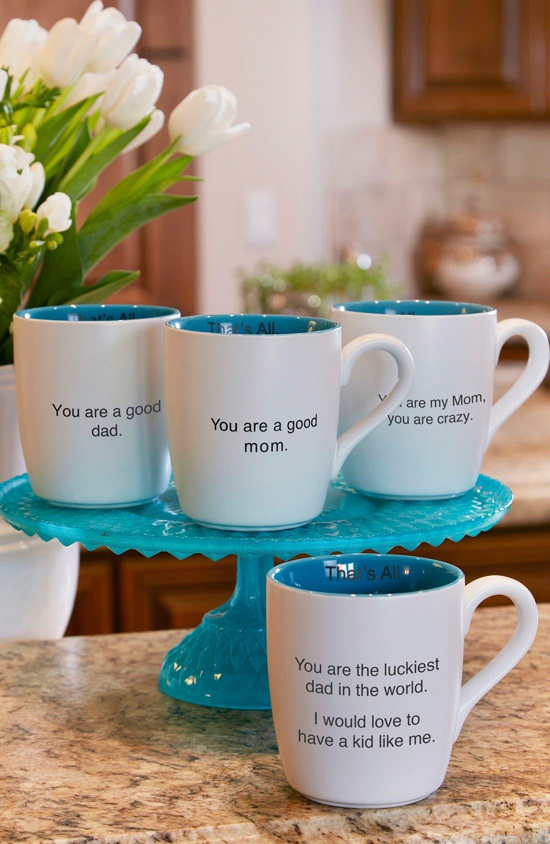 Alternate Image 3  - CB Gift 'Luckiest Dad - That's All' Mug