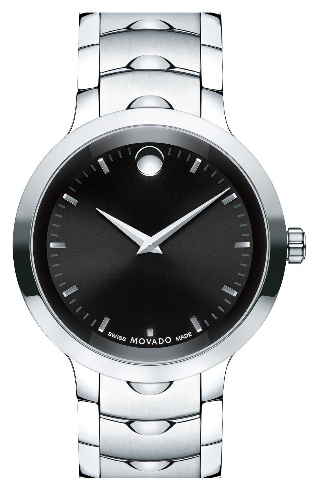 MOVADO Luno Bracelet Watch, 40mm