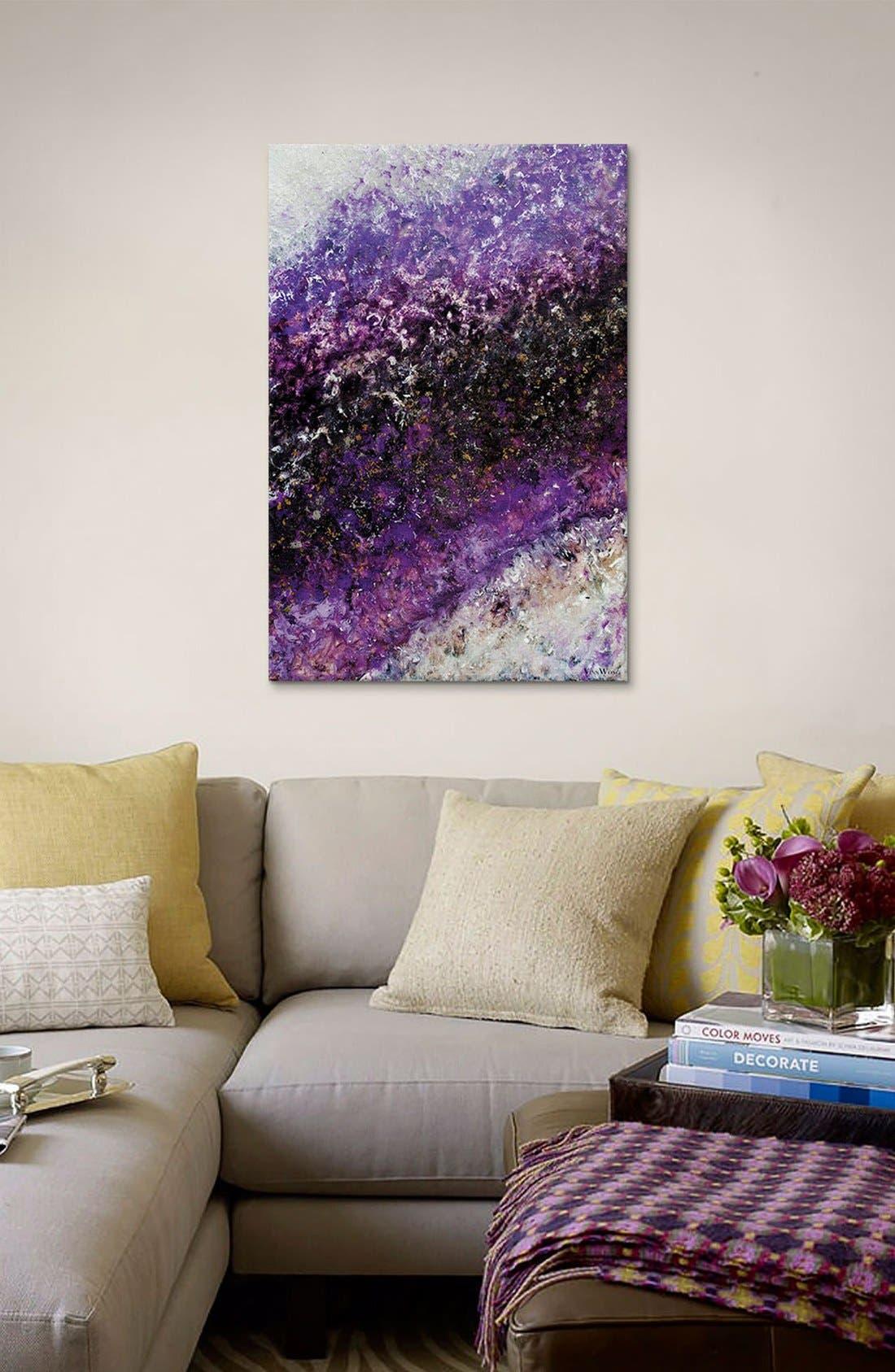 'Beyond Far' Giclée Print Canvas Art,                             Alternate thumbnail 2, color,                             Purple