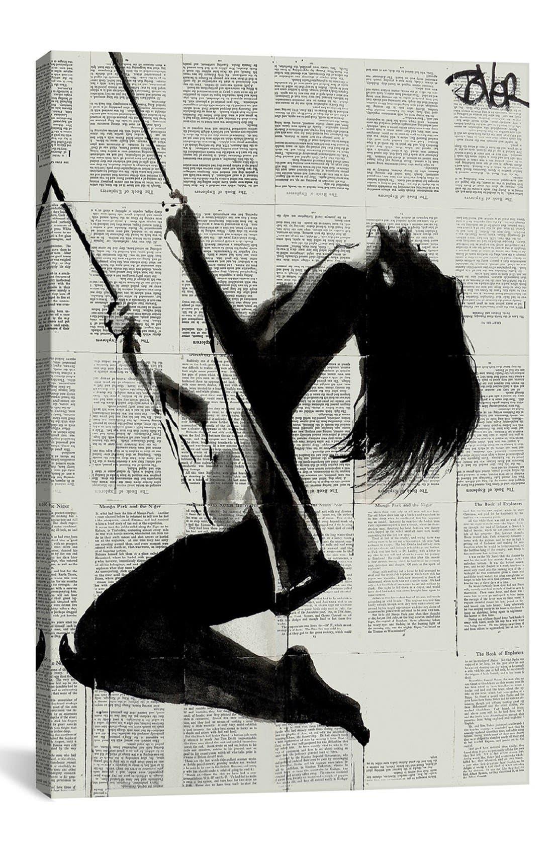 Main Image - iCanvas 'The Lightness of Being Again' Giclée Print Canvas Art