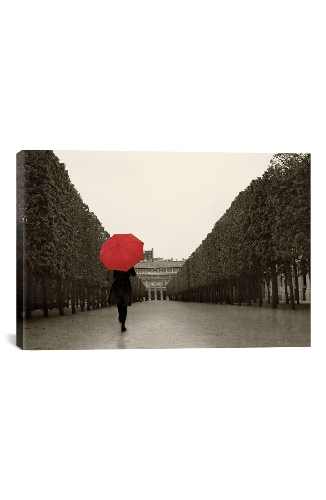 iCanvas 'Paris Stroll' Giclée Print Canvas Art