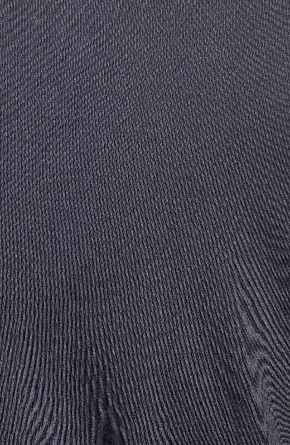 Peruvian Pima Cotton Robe,                             Alternate thumbnail 5, color,                             Ink