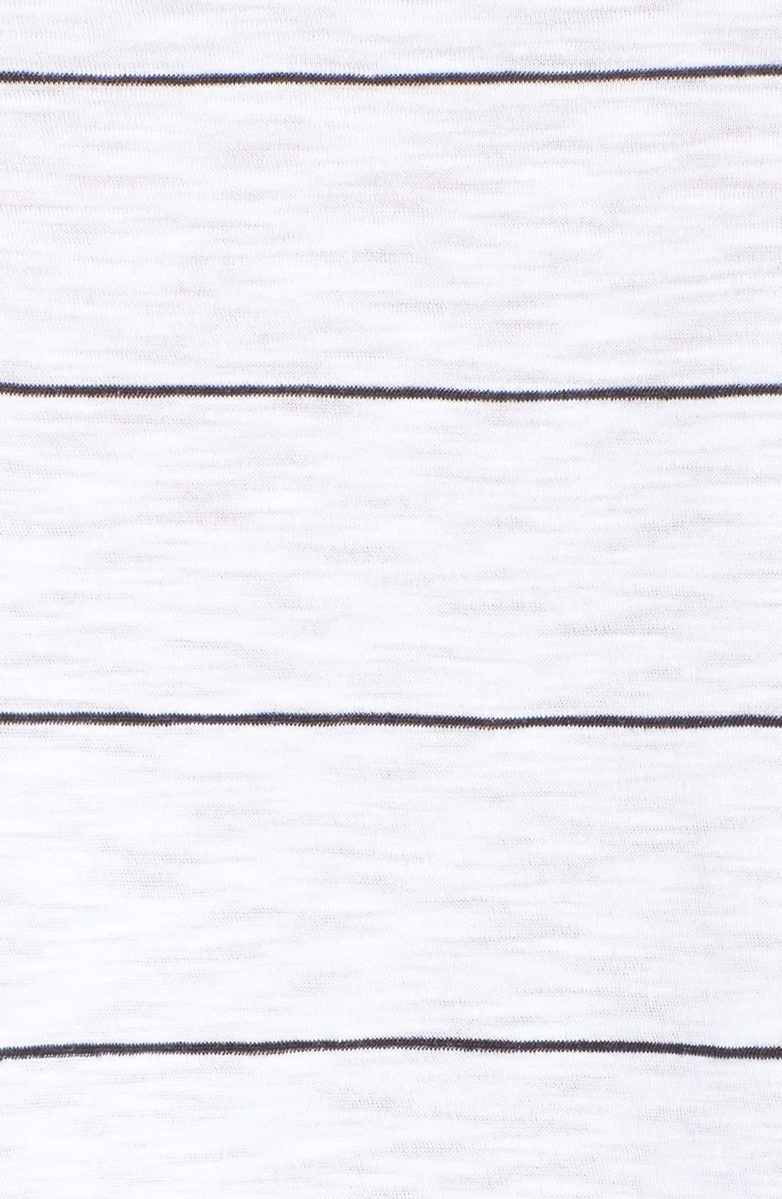 Alternate Image 5  - Michelle by Comune Stripe Crop Tee