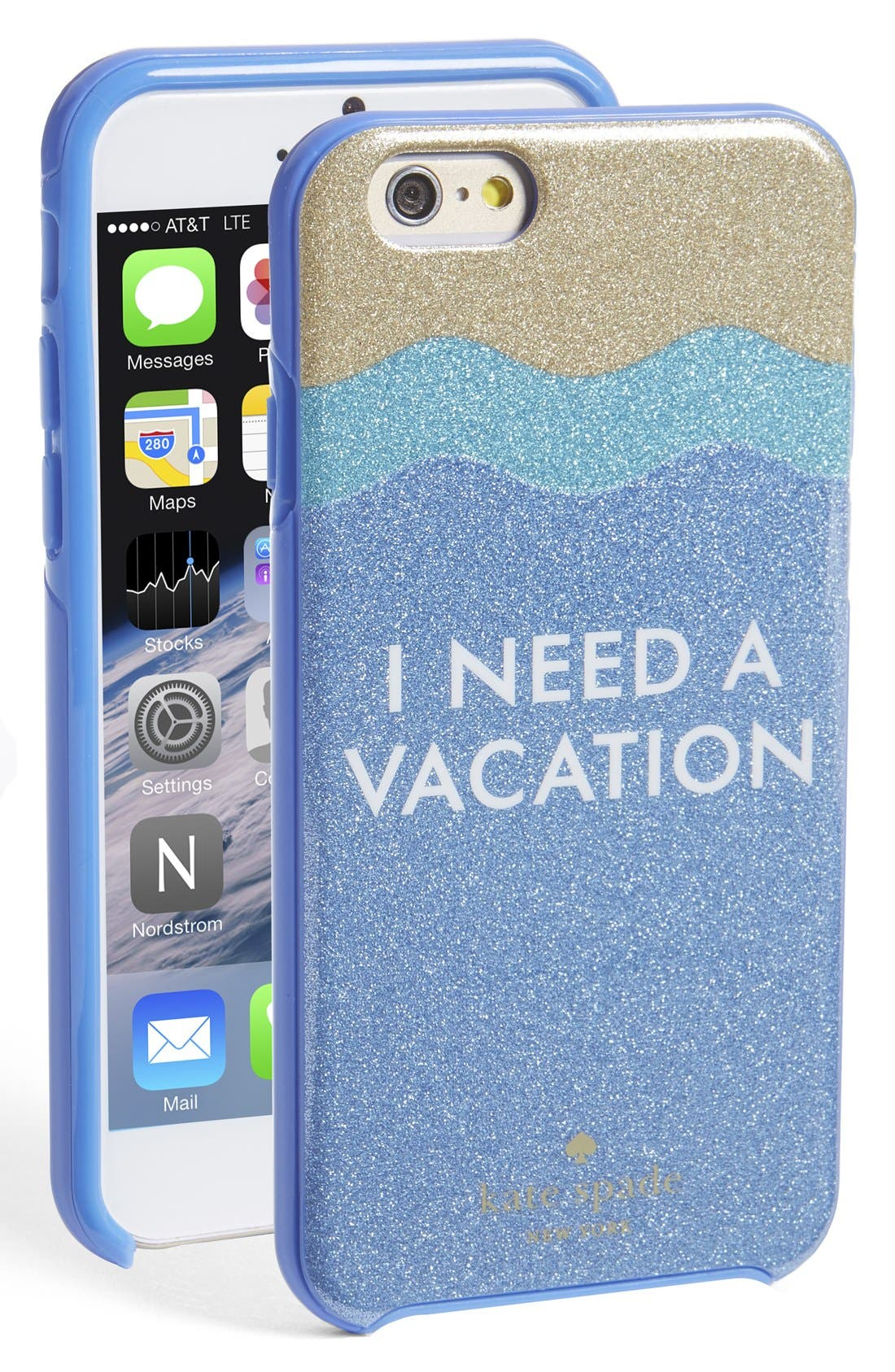 Alternate Image 1 Selected - kate spade new york 'i need a vacation' iPhone 6 & 6s case