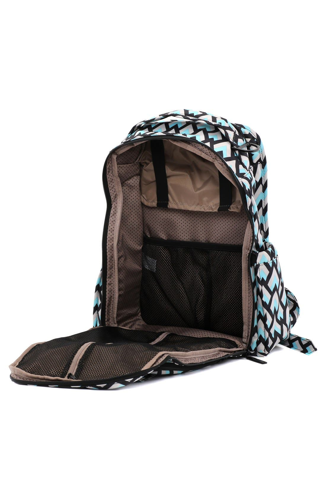 Alternate Image 2  - Ju-Ju-Be 'Be Right Back - Onyx Collection' Diaper Backpack