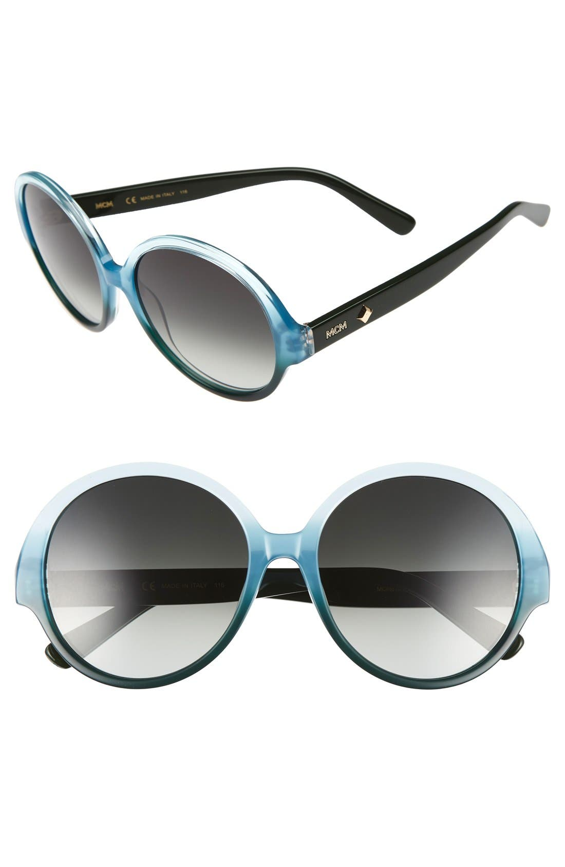 MCM 58mm Round Sunglasses