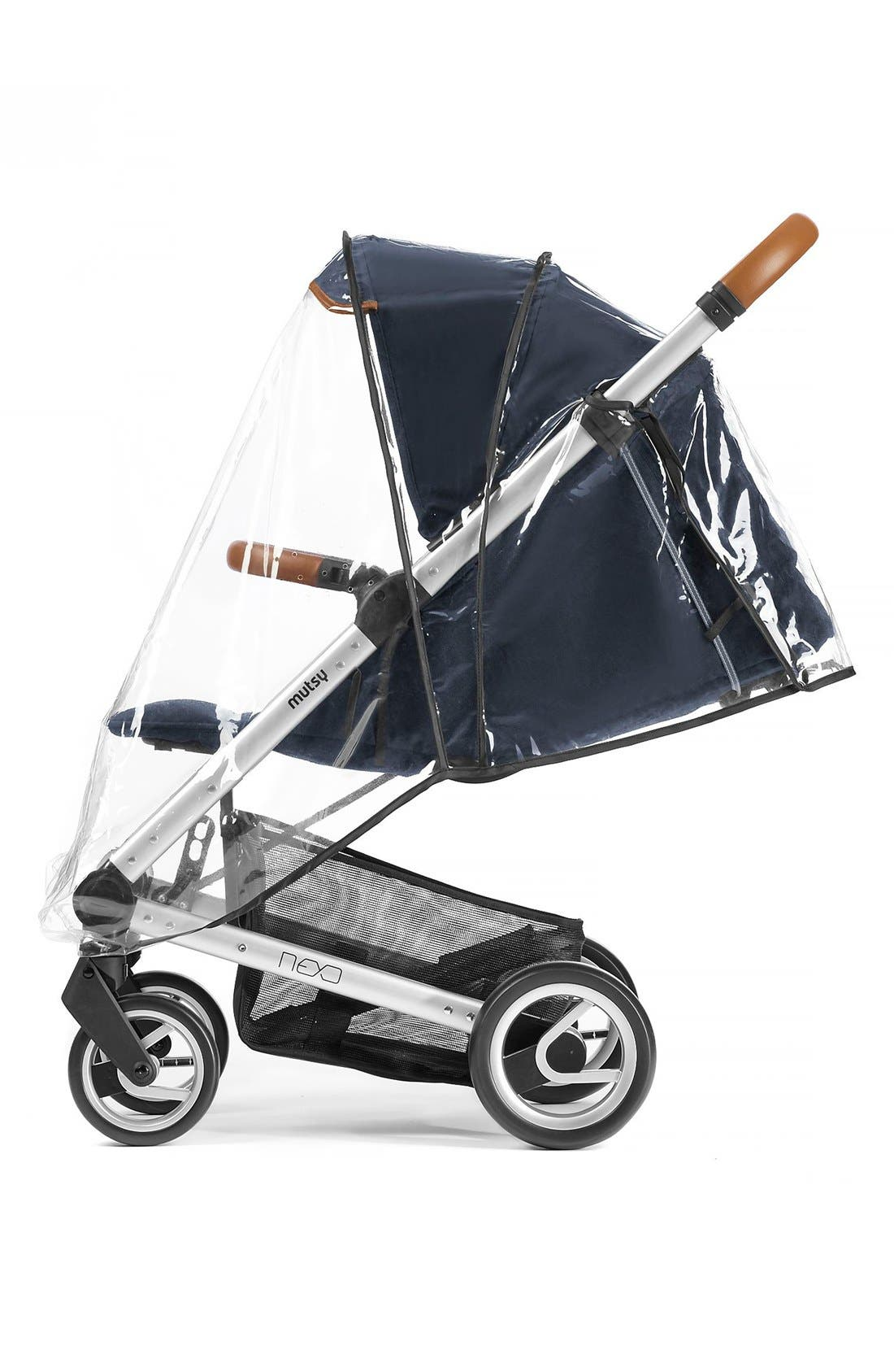 'Nexo' Stroller Seat Rain Cover,                         Main,                         color, Transparent