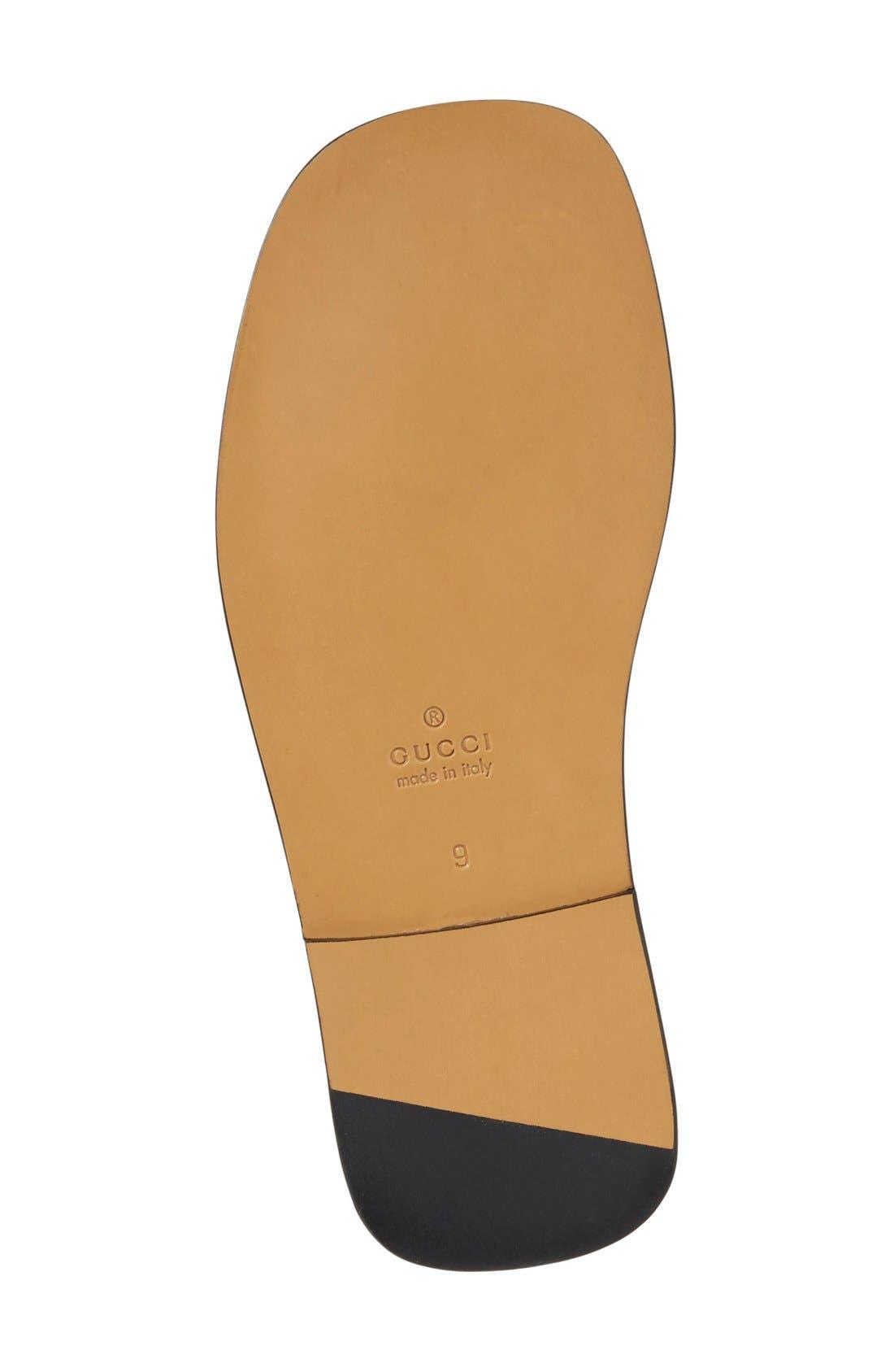 Alternate Image 4  - Gucci 'Twelve Strap' Sandal (Men)