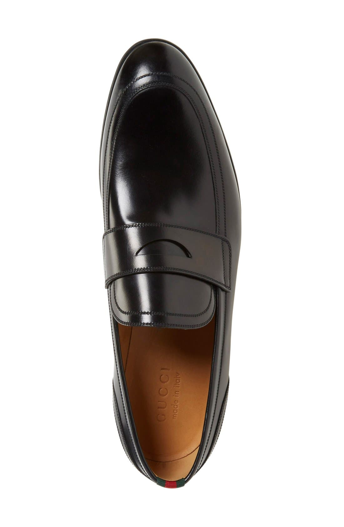 Alternate Image 3  - Gucci Ravello Penny Loafer (Men)