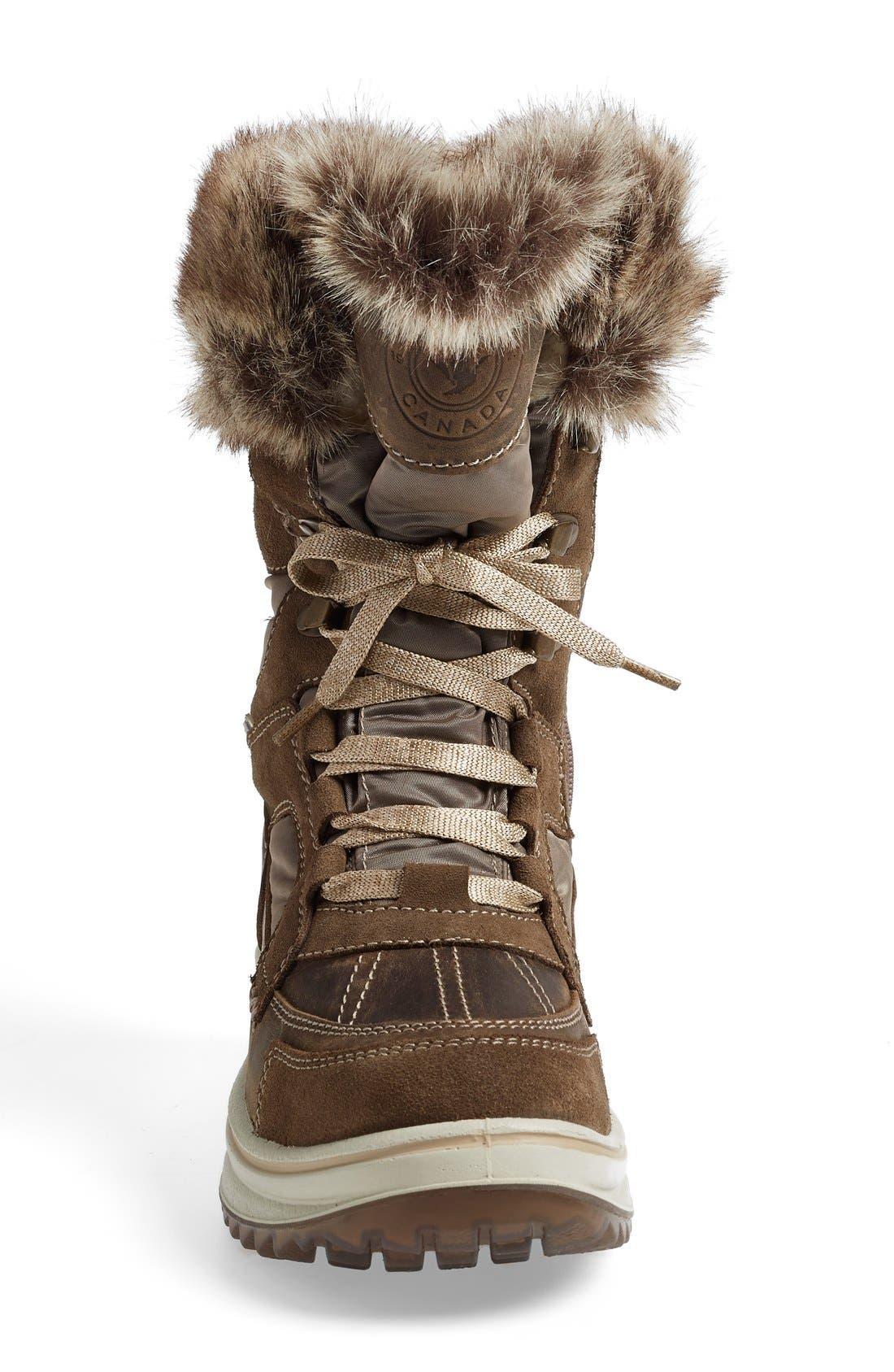Alternate Image 3  - Santana Canada 'Marta' Water Resistant Insulated Winter Boot (Women)