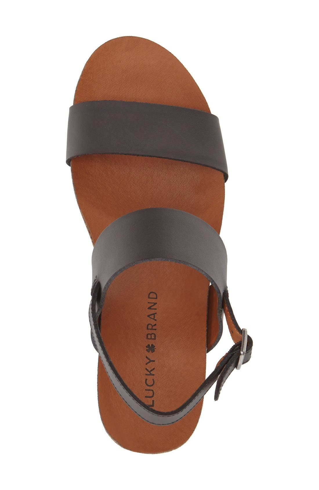 Alternate Image 3  - Lucky Brand 'Jette' Wedge Sandal (Women)