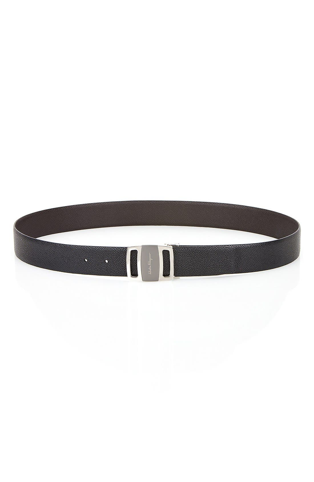 Alternate Image 8  - Salvatore Ferragamo Reversible Leather Belt
