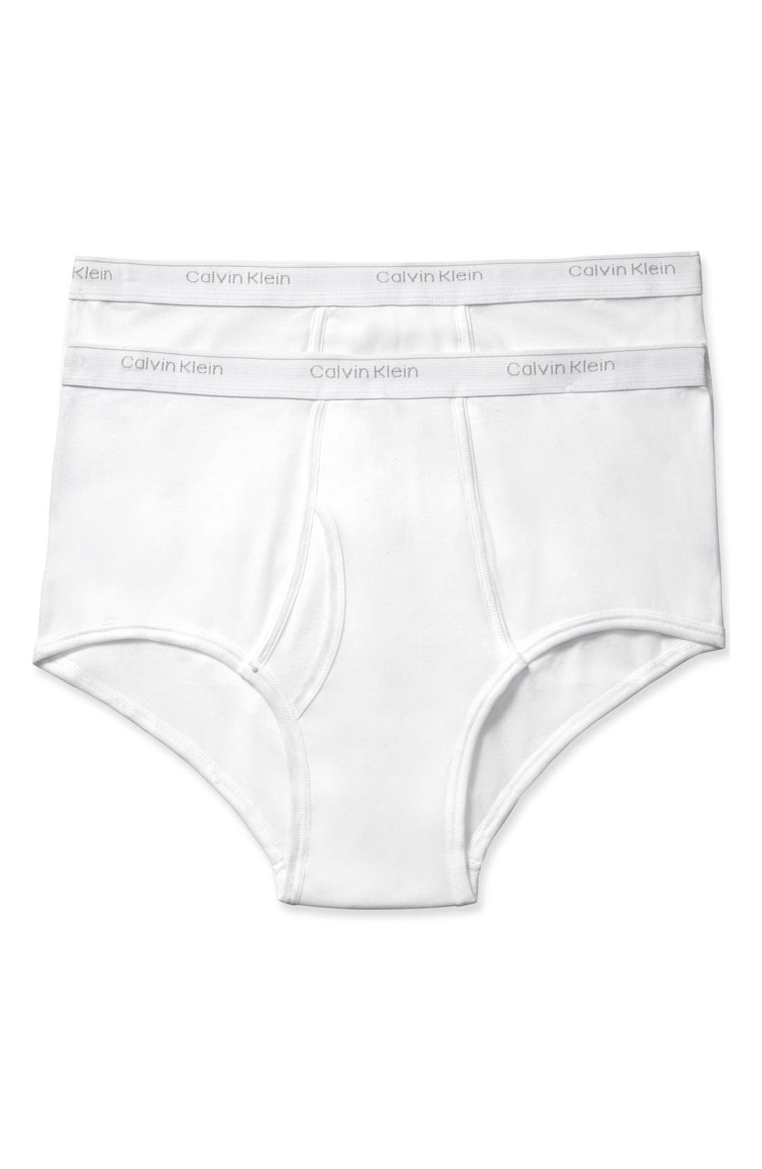 Calvin Klein 2-Pack Cotton Briefs