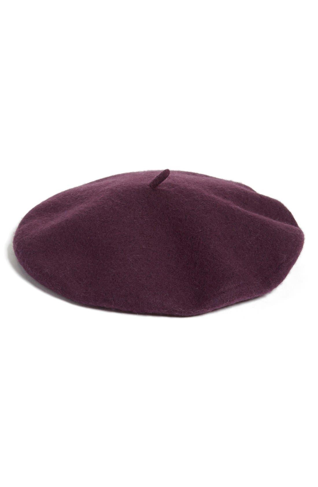Main Image - Halogen® Wool Blend Beret