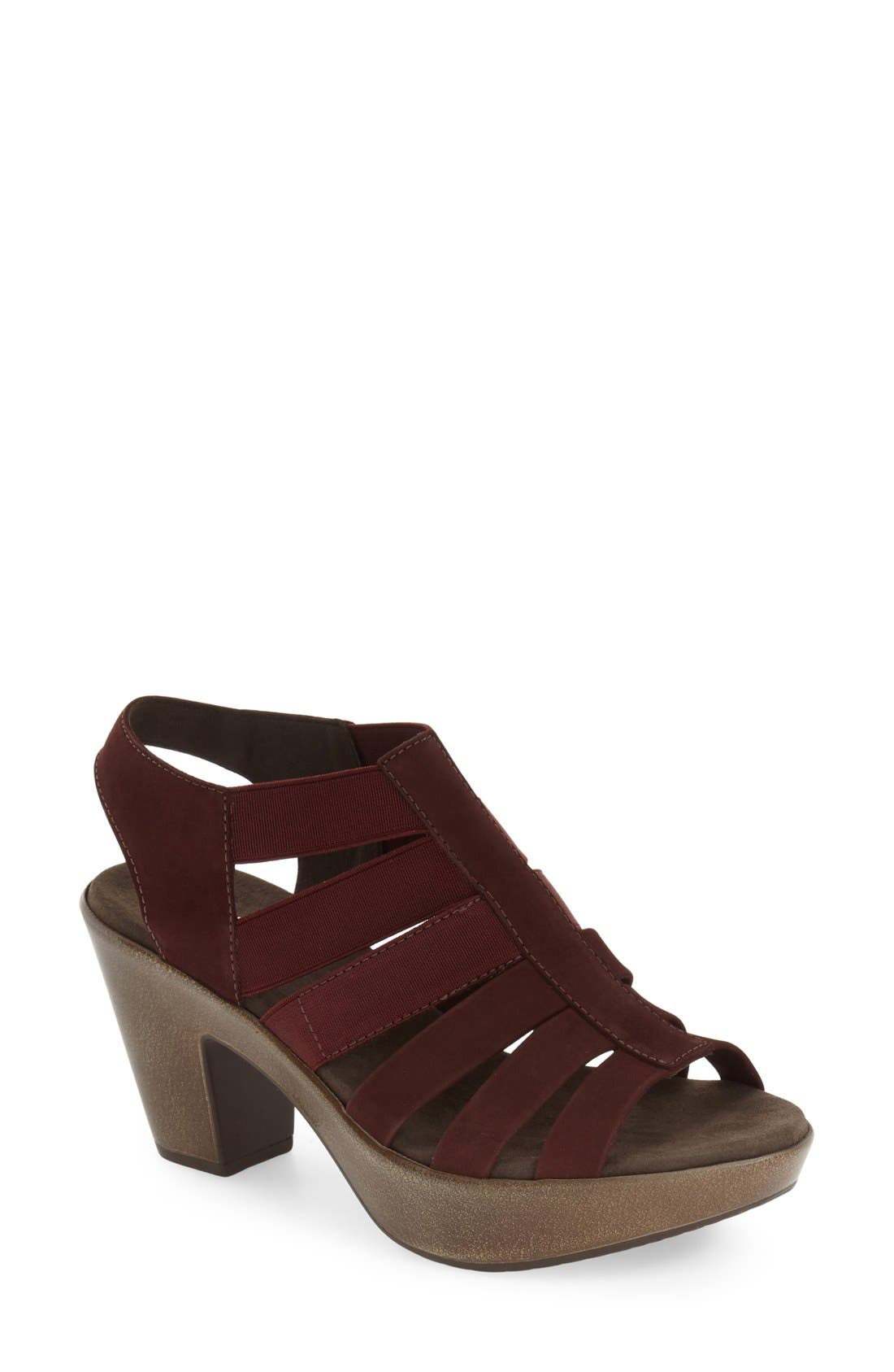 Alternate Image 1 Selected - Munro 'Cookie' Slingback Sandal (Women)